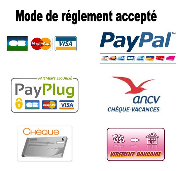 our secure payment options
